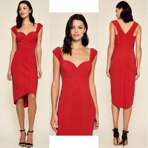 Tadashi Shoji Marciana Sleeveless Pintuck Dress
